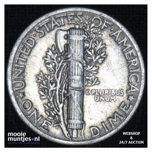 dime - mercury - - United States of America 1941 (KM 140) (kant B)