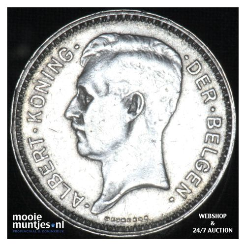 20 francs (20 frank) - Belgium 1934 (KM 104.1) (kant B)