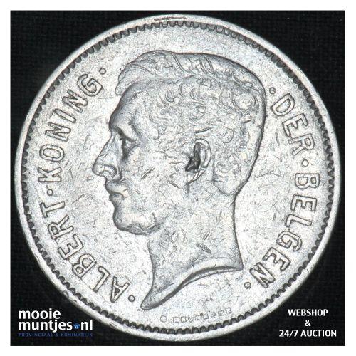 5 francs (5 frank) - Belgium 1932 (KM 98) (kant B)