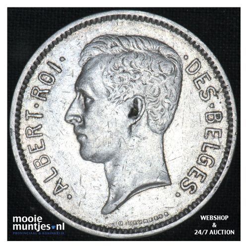 5 francs (5 frank) - Belgium 1930 (KM 97.1) (kant B)
