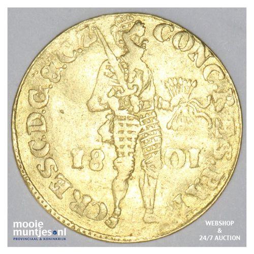 Gelderland - Gouden dukaat - 1801 (kant A)