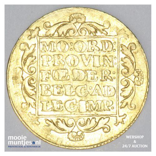 Gelderland - Gouden dukaat - 1801 (kant B)