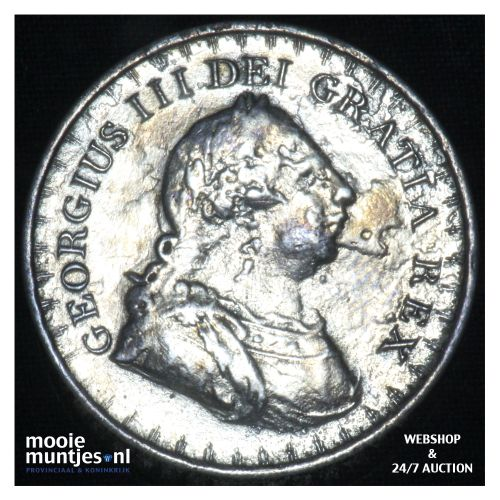 3 shilling - (token coinage) - Great Britain 1811 (KM Tn4) (kant B)