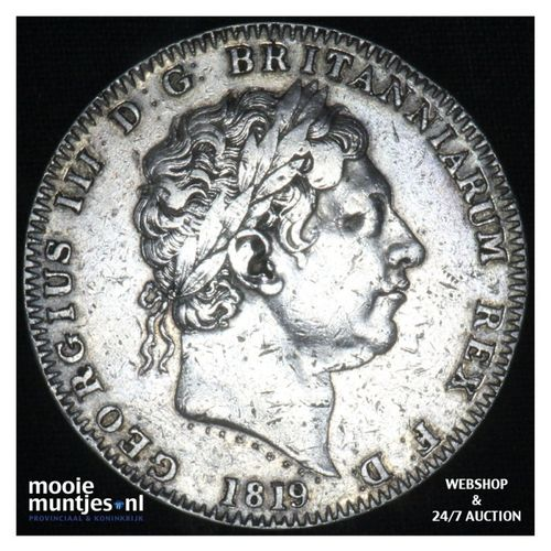 crown - Great Britain 1819 LIX (KM 675) (kant A)