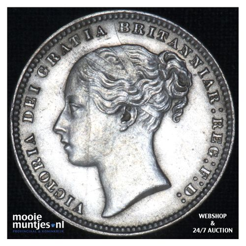 shilling - Great Britain 1875 (KM 743.2) (kant B)