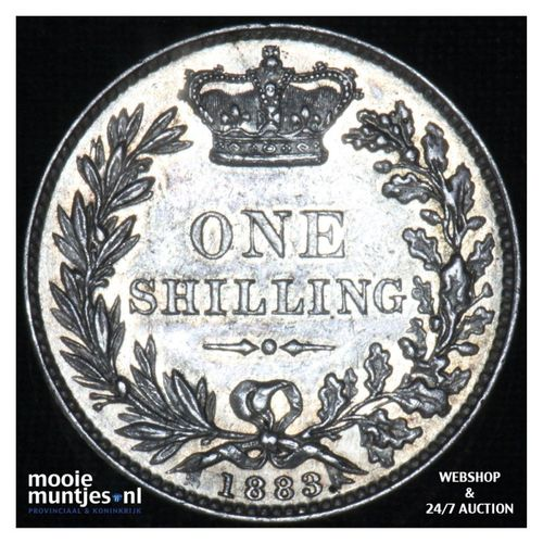 shilling - Great Britain 1883 (KM 743.4) (kant A)