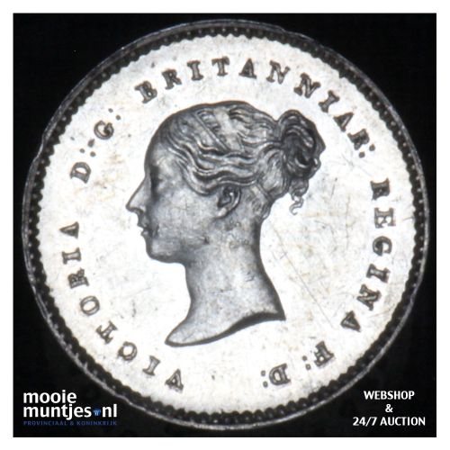 2 pence - Great Britain 1855 prooflike (KM 729) (kant B)