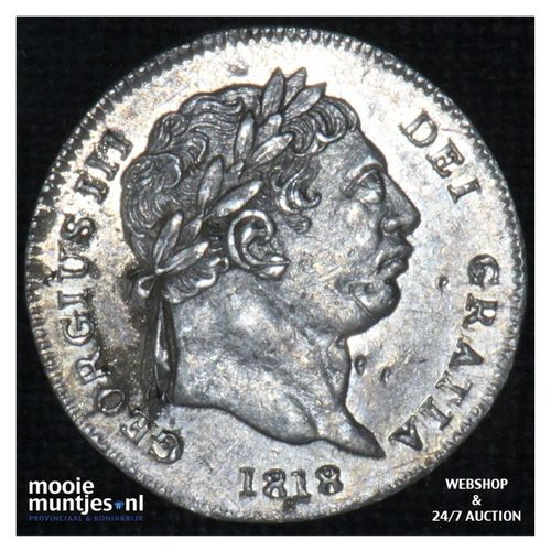 2 pence - Great Britain 1818 (KM 669) (kant A)