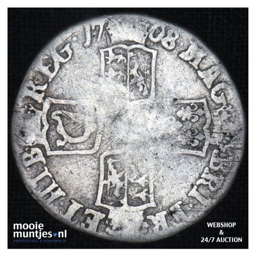 6 pence  - Great Britain 1708 (KM 522.3) (kant A)