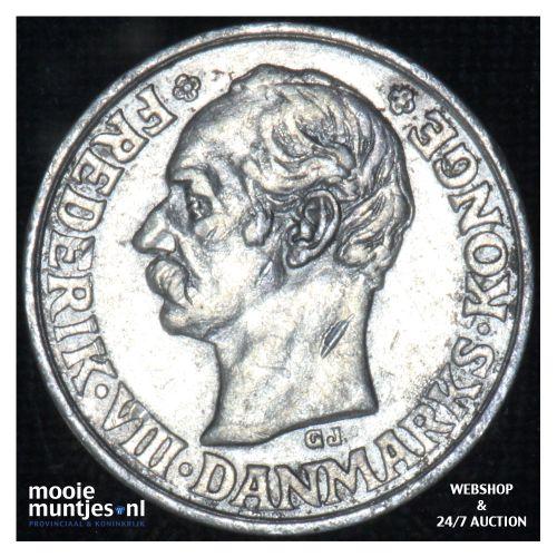 25 ore - Denmark 1911 (KM 808) (kant B)