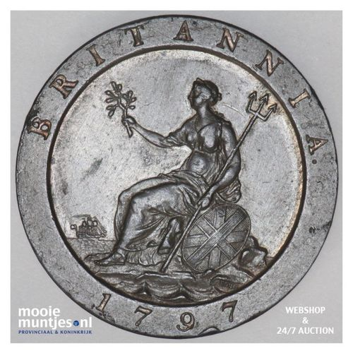 penny - Great Britain 1797 (KM 618) (kant A)