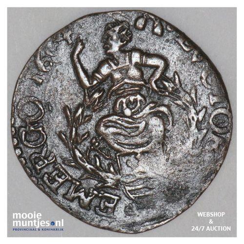 Zeeland - Duit - 1604 (kant A)