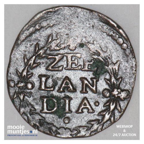 Zeeland - Duit - 1604 (kant B)