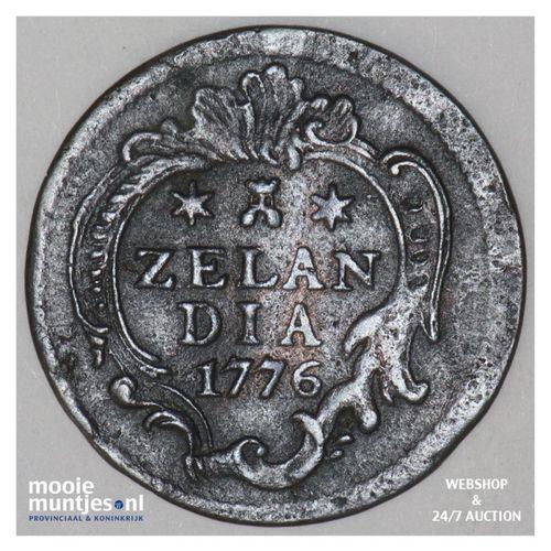 Zeeland - Duit - 1776 (kant A)