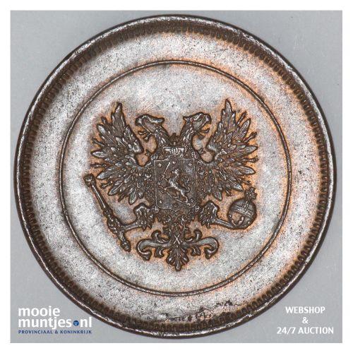 10 pennia - grand duchy -  - Finland 1917 (KM 14) (kant B)