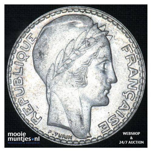 10 francs - France 1938 (KM 878) (kant B)