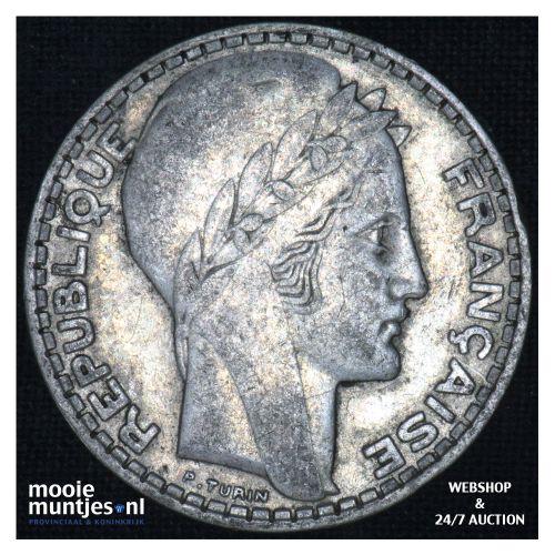 10 francs - France 1929 (KM 878) (kant B)