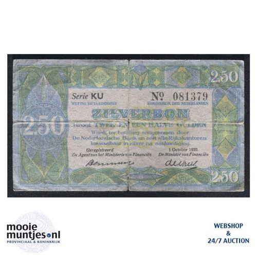 2½ gulden - 1918 (Mev. 12-3 / AV 10) (kant A)
