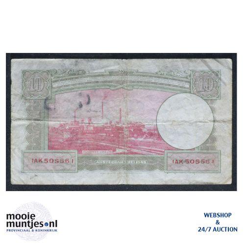 10 gulden  - 1945 (Mev. 46-2 / AV 35) (kant B)