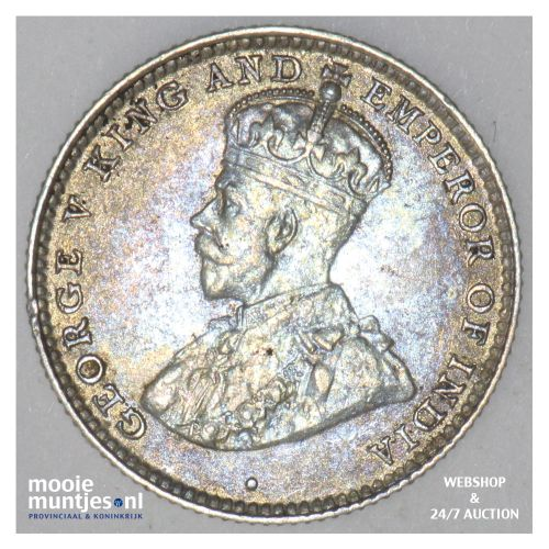 10 cents -   - Ceylon 1926 (KM 104a) (kant B)