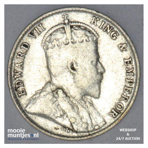 10 cents -   - Ceylon 1910 (KM 97) (kant B)