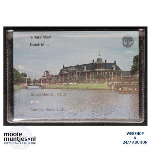 Jaarsets - Beatrix - 1987 Utrecht (kant A)