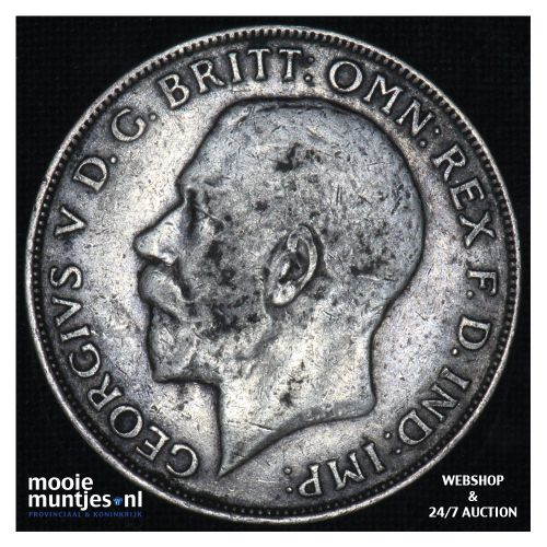 florin (two shillings) - Great Britain 1923 (KM 817a) (kant B)