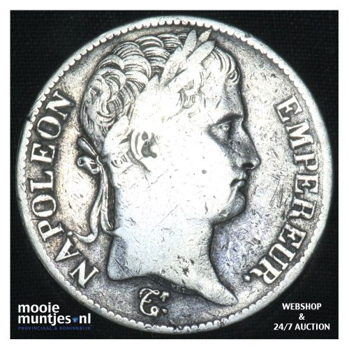 5 francs - Keizer Napoleon I - 1813 (kant B)