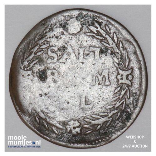Zaltbommel - Duit - z.j.  (kant A)