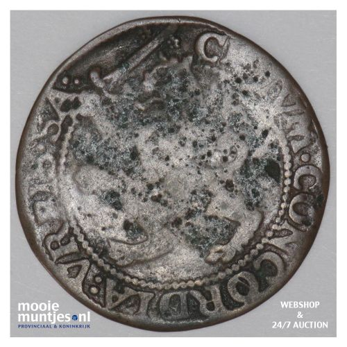 Zaltbommel - Duit - z.j.  (kant B)