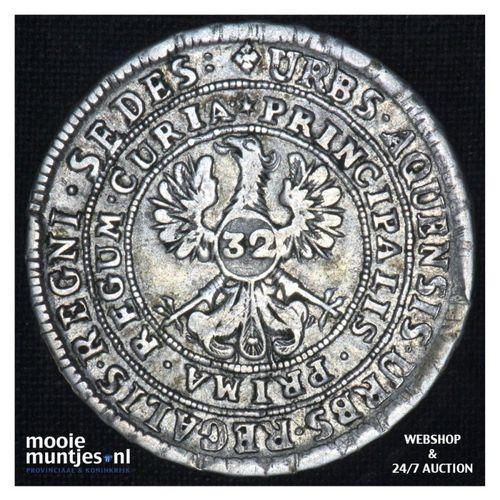 32 marck - - German States/Aachen z.j. - no date (KM 44) (kant A)