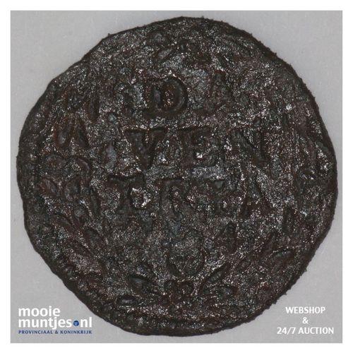 Deventer - Duit - 1594 (kant A)