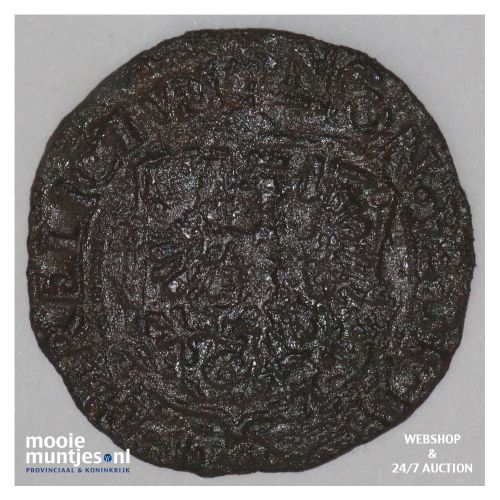 Deventer - Duit - 1594 (kant B)