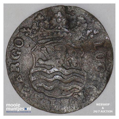 Zeeland - Duit - 1724 (kant B)