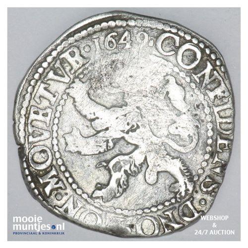 Zeeland - Leeuwendaalder - 1649 (kant A)