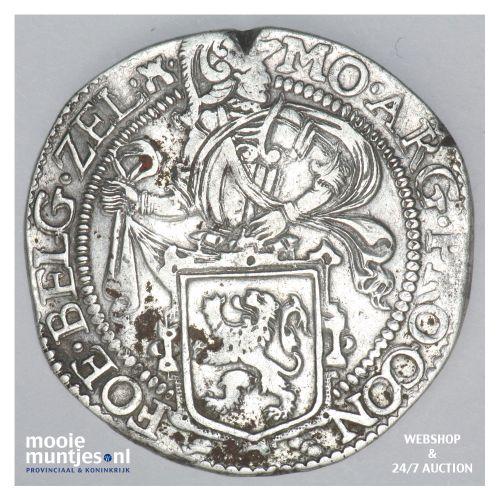Zeeland - Leeuwendaalder - 1606 (kant B)
