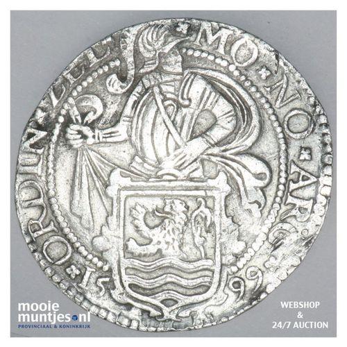Zeeland - Leeuwendaalder - 1599 (kant A)