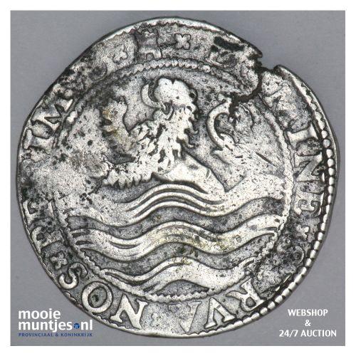 Zeeland - Leeuwendaalder - 1598 (kant B)