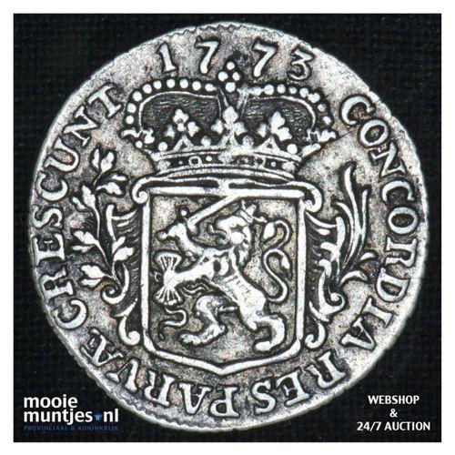 Zeeland - Achtste dukaat of Pietje - 1773 (kant A)