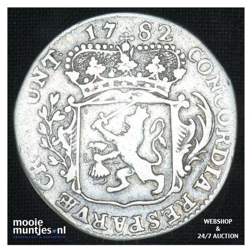 Zeeland - Kwart dukaat  - 1782 (kant A)