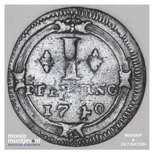 pfennig - (cathedral chapter) - German States/Munster 1740 (KM 435) (kant A)