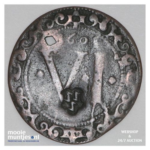 6 pfennig - cathedral chapter -  - German States/Munster 1608 (KM 402) (kant A)
