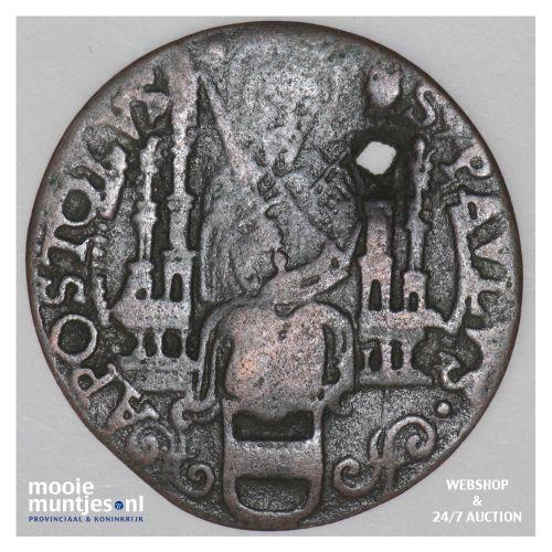 6 pfennig - cathedral chapter -  - German States/Munster 1608 (KM 402) (kant B)