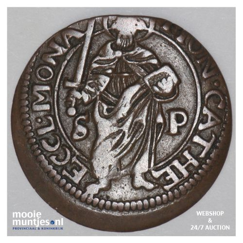 4 pfennig - cathedral chapter -  - German States/Munster 1661 (KM 419) (kant B)