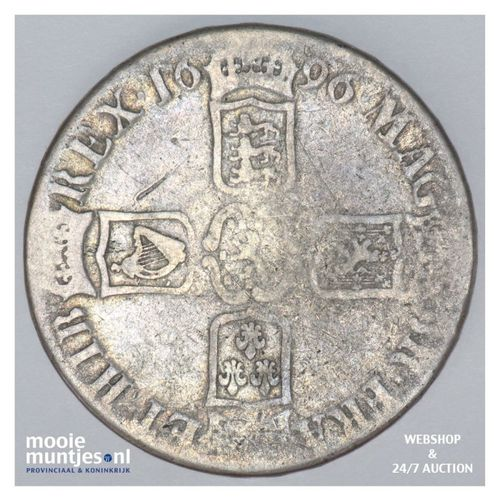 crown - pre-decimal coinage - - Great Britain 1696 (KM 486) (kant A)