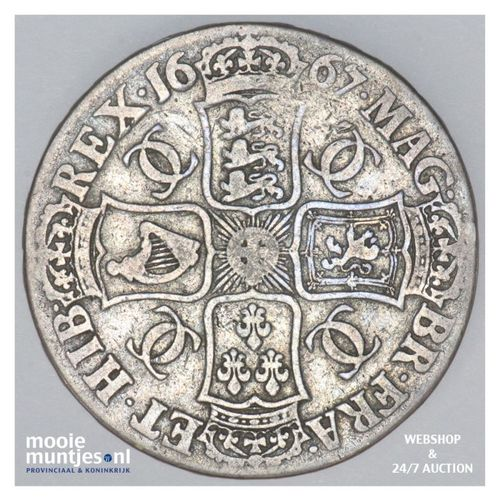 crown - pre-decimal coinage - - Great Britain 1667 (KM 422.3) (kant A)