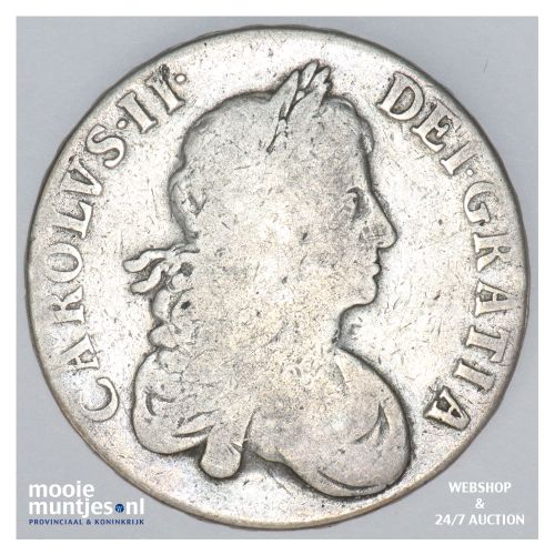 crown - pre-decimal coinage - - Great Britain 1667 (KM 422.3) (kant B)