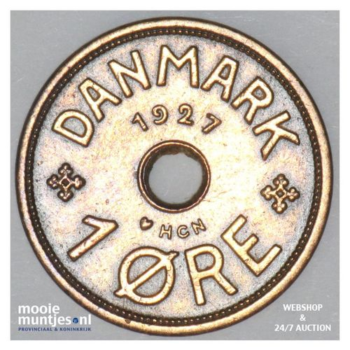 ore - Denmark 1927 (KM 826.1) (kant A)