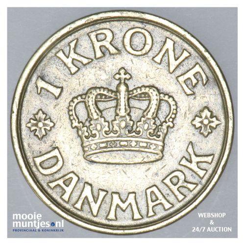 krone - Denmark 1936 (KM 824.2) (kant B)