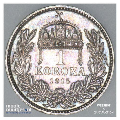 5 corona - Austria 1915 (KM 2807) (kant A)